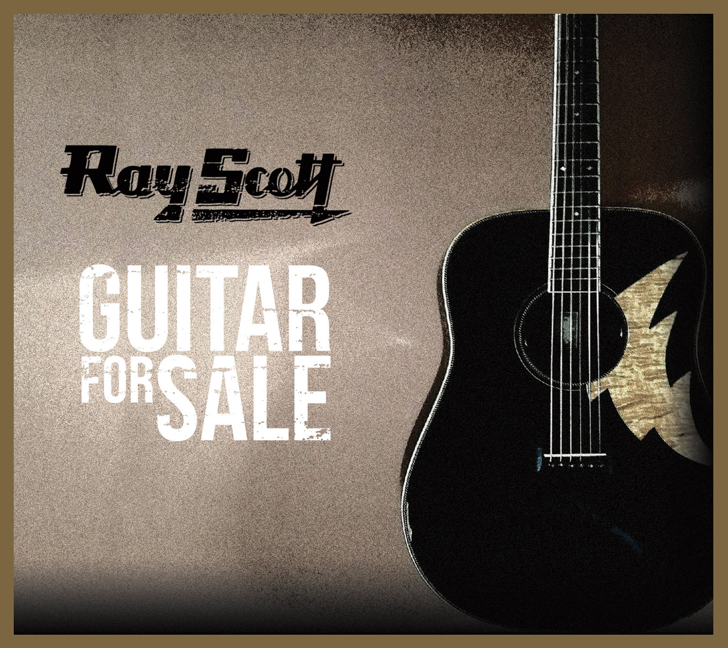 RAY SCOTT TO RELEASE GUITAR FOR SALE ON JUNE 9TH – Building Our