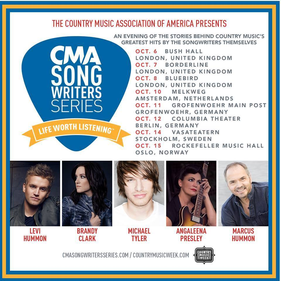 Interview: Levi Hummon on visiting the UK for Country Music Week