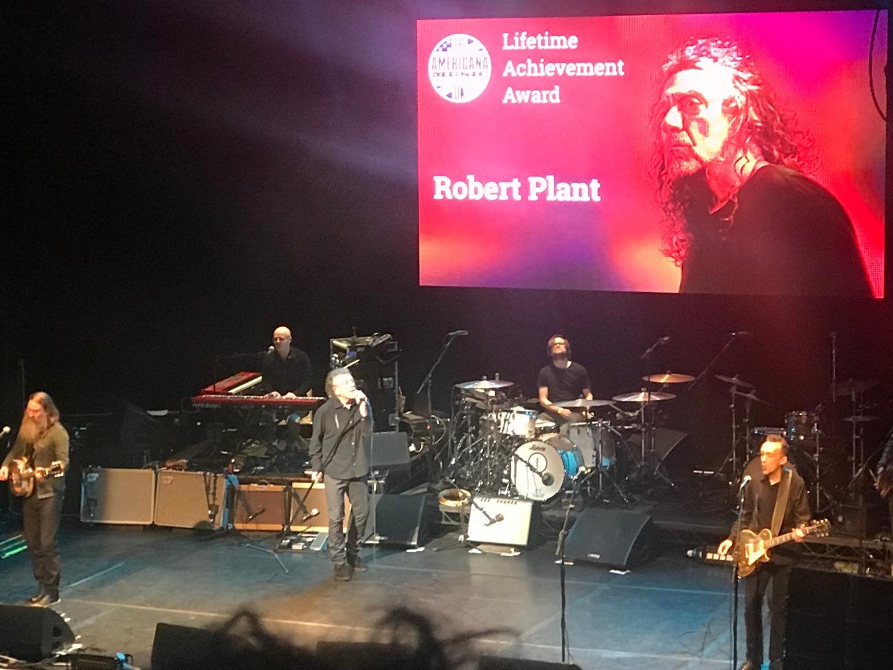 Robert Plant at AMA UK - Credit Chaz Brooks