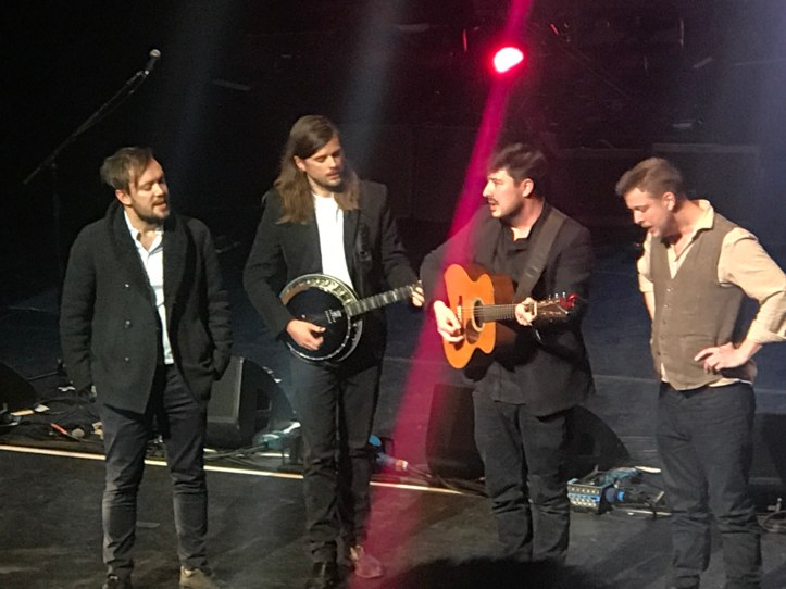 Mumford and Sons at AMA UK - Credit Chaz Brooks