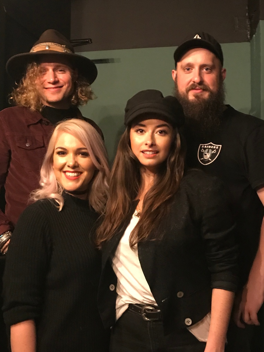 Interview: The Wandering Hearts on their time in Nashville, what song of theirs their families enjoy most, who they want to write with and more
