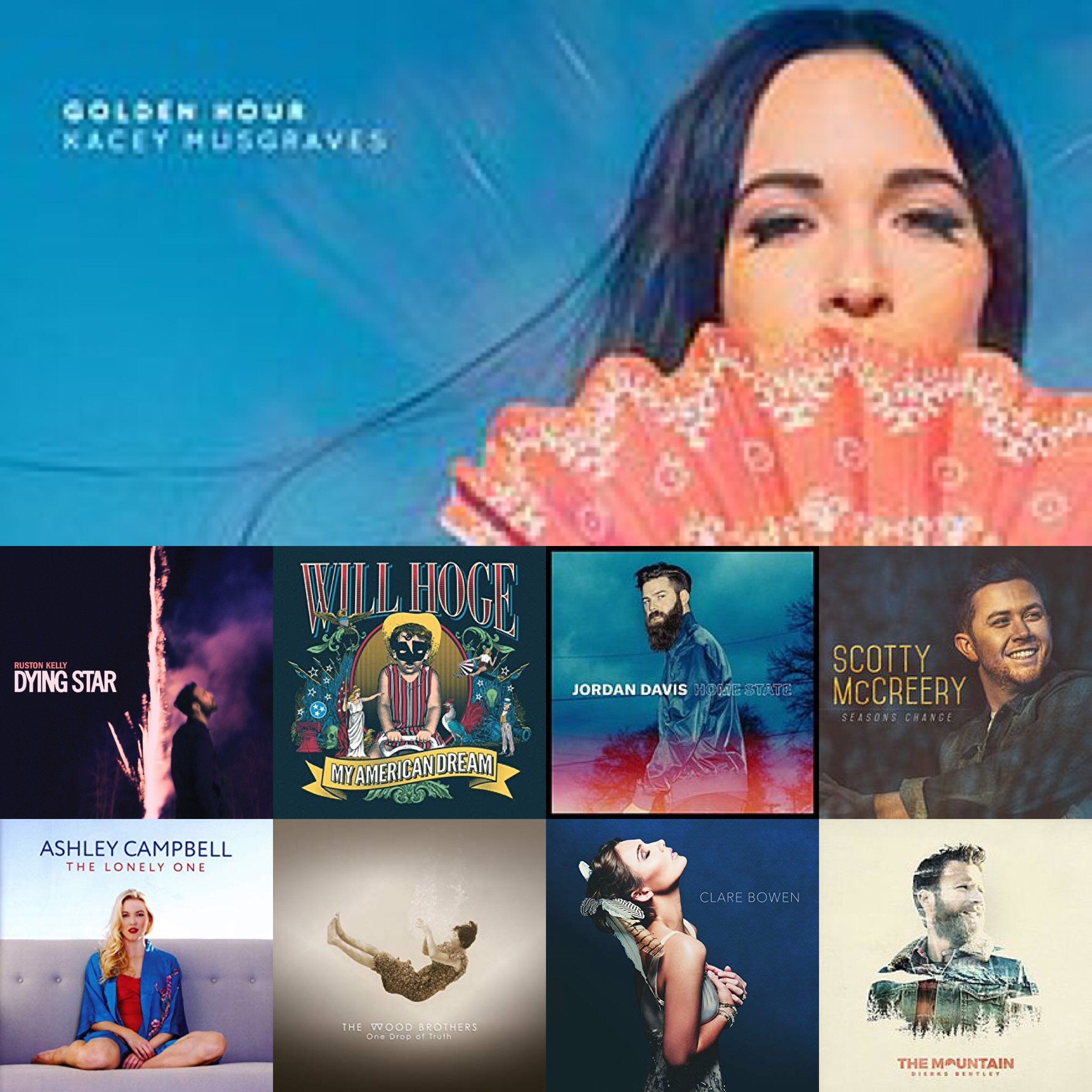 BOON's Top 20 Albums of 2018 – Building Our Own Nashville