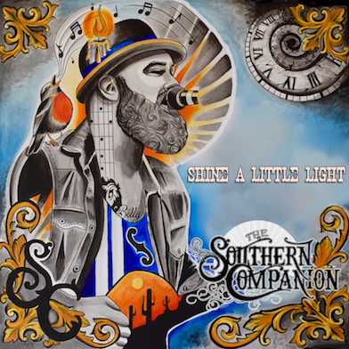 The Southern Companion's album Shine A Little Light out TODAY and
