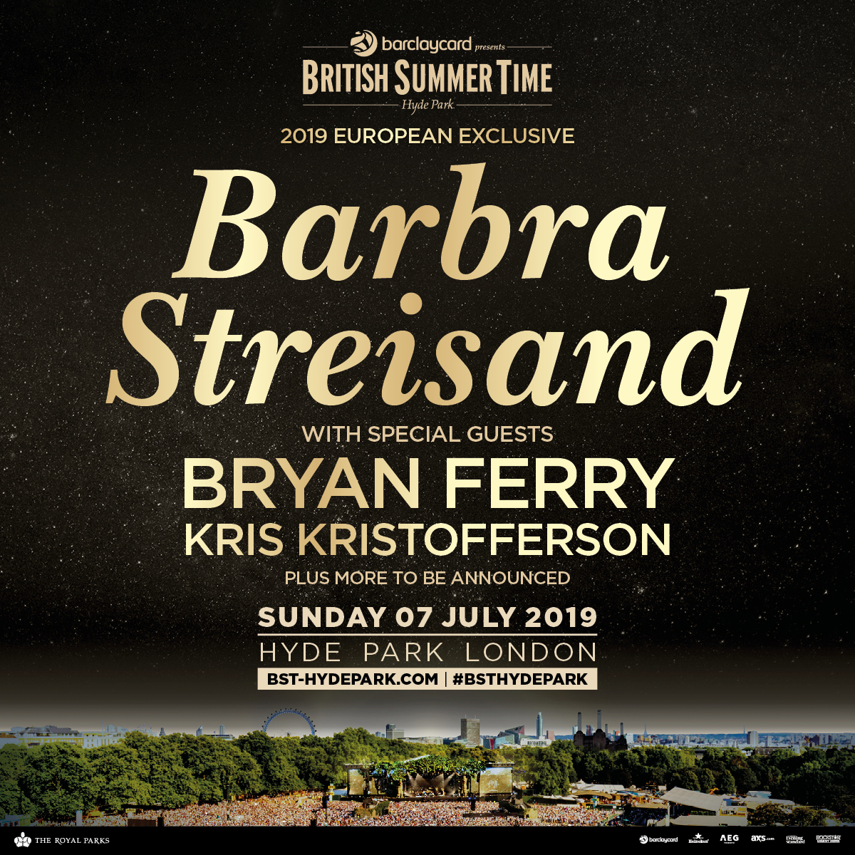 910bf2e5a Kris Kristofferson Joins Barbra Streisand AT BST Hyde Park – Could This  Mean A Possible 'A Star Is Born' Reunion on stage?
