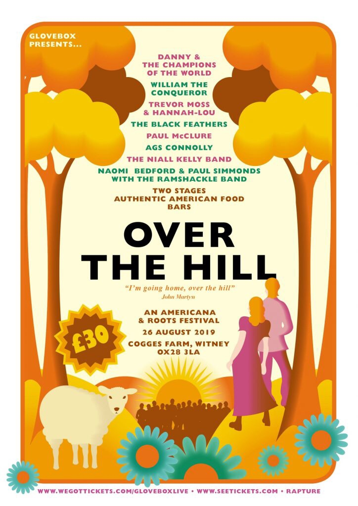 Over the Hill festival debuts Bank Holiday Monday August 26th